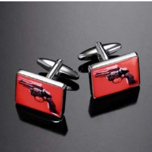 Troika Other - Limited edition Andy Warhol silver cufflinks